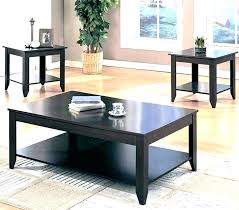 wood and glass end tables coffee table and end tables glass set cappuccino wood wooden round