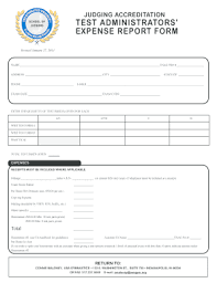 Blank Expense Report Form Expense Report Template Fillable Fill Online Printable