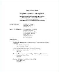 Resume Template Maker From Free Resume Builder Optometrist Resume
