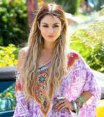 vanessa hudgens ashley benson reunite at coaca pool party photo vanessa hudgens is bedazzled in jewels as she attends a desert pool party held