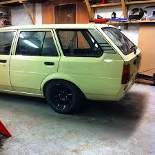 my ke wagon is now bumperless and lowered on inch watts and in  my ke70 wagon is now bumperless and lowered on 14inch watts and in mcnsport team colours love theses things this one will be for shortly dmac ae86