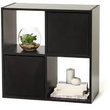 Kmart Furniture Bedroom 4 Cube Storage Unit Black Kmart