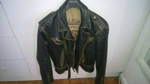 rare vintage us navy leather jacket l xl in good condition bargain