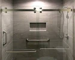 cambridge series two door bypass sliding shower door system