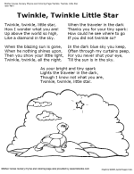 Small Picture Free Poetry and Nursery Rhyme Worksheets and Coloring Pages TLSBooks