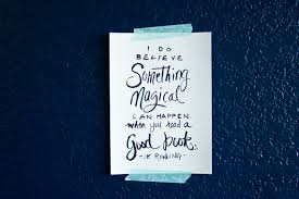 Magical Quotes Book Quote Quote about Books J K Rowling Quote Magic Quote 97