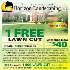 lawn care advertising templates by horizon landscaping llc lawn care pinterest landscaping