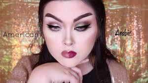 american vs arab makeup tutorial jackyohhh