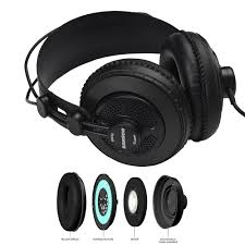 Open Design Headphones Us 24 81 34 Off Samson Sr850 Professional Studio Reference Monitor Headphones Dynamic Headset Semi Open Design For Recording Monitoring Music In