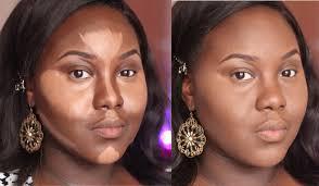 best contouring makeup for dark skin highlight and contour dark skin updated routine