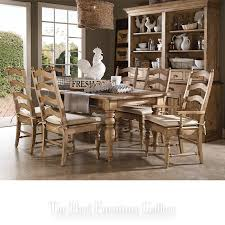 seven piece dining set: kincaid furniture homecoming seven piece dining table amp chair set