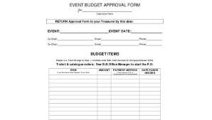 Form For Budgeting Free 8 Sample Event Budget Forms In Word Pdf