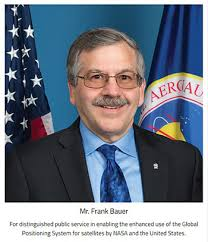 AAE alumnus Frank Bauer awarded NASA Distinguished Public Service Medal -  School of Aeronautics and Astronautics - Purdue University