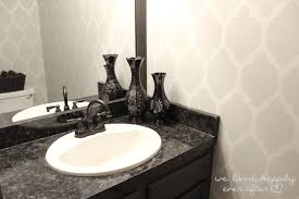 painted bathroom countertop how to paint bathroom countertops great granite tile countertop