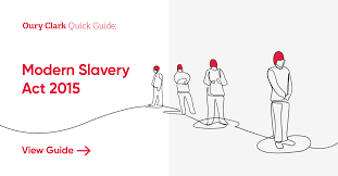 Modern Slavery Act 2015 - an overview