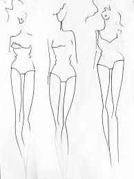 Body Template For Designing Clothes Tutorial How To Create A Fashion Template From Your Own Body