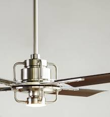 modern ceiling fan. peregrine industrial led ceiling fan 4-blade available in four modern i
