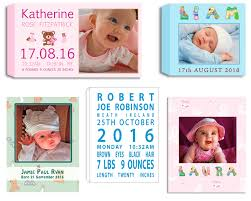 baby born photo art nursery art gift ideas photos and photo collages designed and printed on