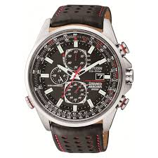 buy a citizen watch fraser hart citizen eco drive red arrows world chronograph a t men s black leather strap watch