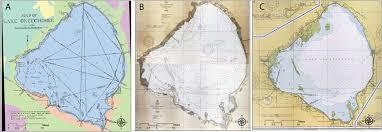 Nautical Charts Historic Nautical Charts Of Lake Okeechobee From Several