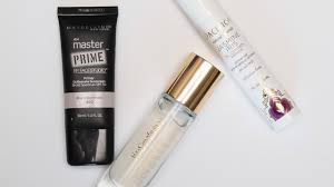 primers go on first and prepare skin for makeup