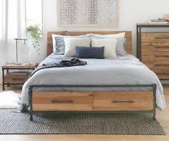 Image Teak Karsten Storage Bed Scandinavian Designs Scandinavian Designs Bedroom Furniture Scandinavian Designs