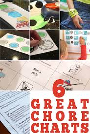 6 Great Chore Chart Ideas
