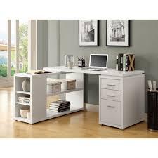 large white office desk. Desk:White Office Furniture Wooden Corner Desk L Shaped Trestle Grey Large White A