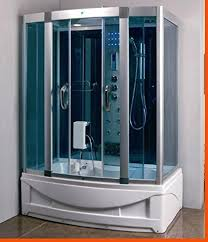 steam shower. Steam Shower Room With Jacuzzi Whirlpool Tub