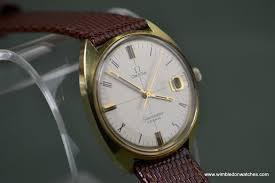 mens omega seamaster cosmic gold watch excellent condition mens omega seamaster cosmic gold watch excellent condition
