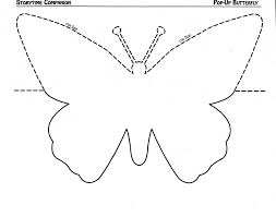 butterfly stencil template_46895 references template paper best create professional resumes on job description template for a waitress