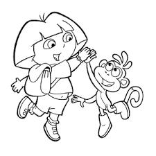 Dora De Verkenner Kleurplaten Leuk Voor Kids