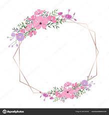 Card Frame Design Floral Frame Wedding Invitation Greeting Card Design Banner