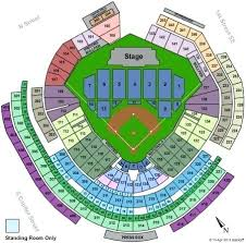 Nationals Stadium Seating Chart With Rows True To Life Washington Nationals Seat Map Chavez Ravine