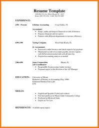 Resume First Job Resume Tips Leterformat For With No