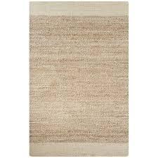 jaipur living naturals tobago 9 x 12 jute rug in ivory and natural