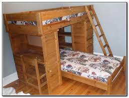 luxury wood bunk bed with desk 0 loft jpg s pi