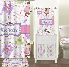 Princess And The Frog Bedroom Decor Princess Print Shower Curtain Personalized Potty Patty
