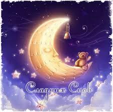 Картинки по запросу картинки анимация луна .ангелок счастья вам
