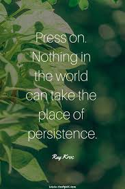 Perseverance Persistence Consistency Resilience Patience Wisdom