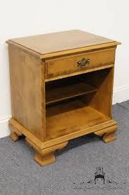 high end used furniture  ethan allen heirloom nutmeg maple