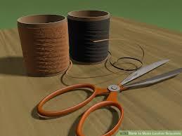 image titled make leather bracelets step 8