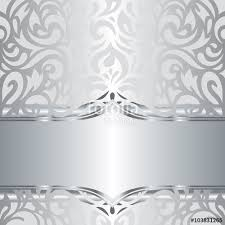 silver holiday wallpaper. Contemporary Wallpaper Shiny Silver Floral Decorative Holiday Vintage Invitation Wallpaper  Background Design And Silver Holiday Wallpaper W