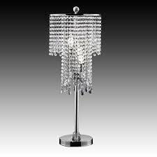 gorgeous crystal table lamps for indoor lights and decoration crystal bead chrome table lamps at
