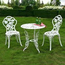 zest garden of ontario ca is recalling about 22 500 wilson fisher white cast bistro table and chairs sets