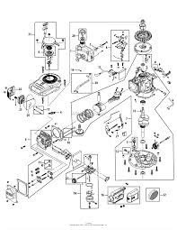 Mtd 1p61n0 engine parts diagram for engine assembly 1p61n0