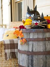 office halloween decor. How To Make Black Cat Pumpkins Office Halloween Decor