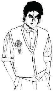 Michael Jackson Coloring Page Arcadexme