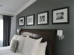 bedroom paint ideas black and white. i like the grey accent wall with black picture frames bedroom paint ideas and white e