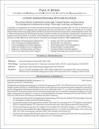 Senior System Administrator Resume Sample Resume For Your Job